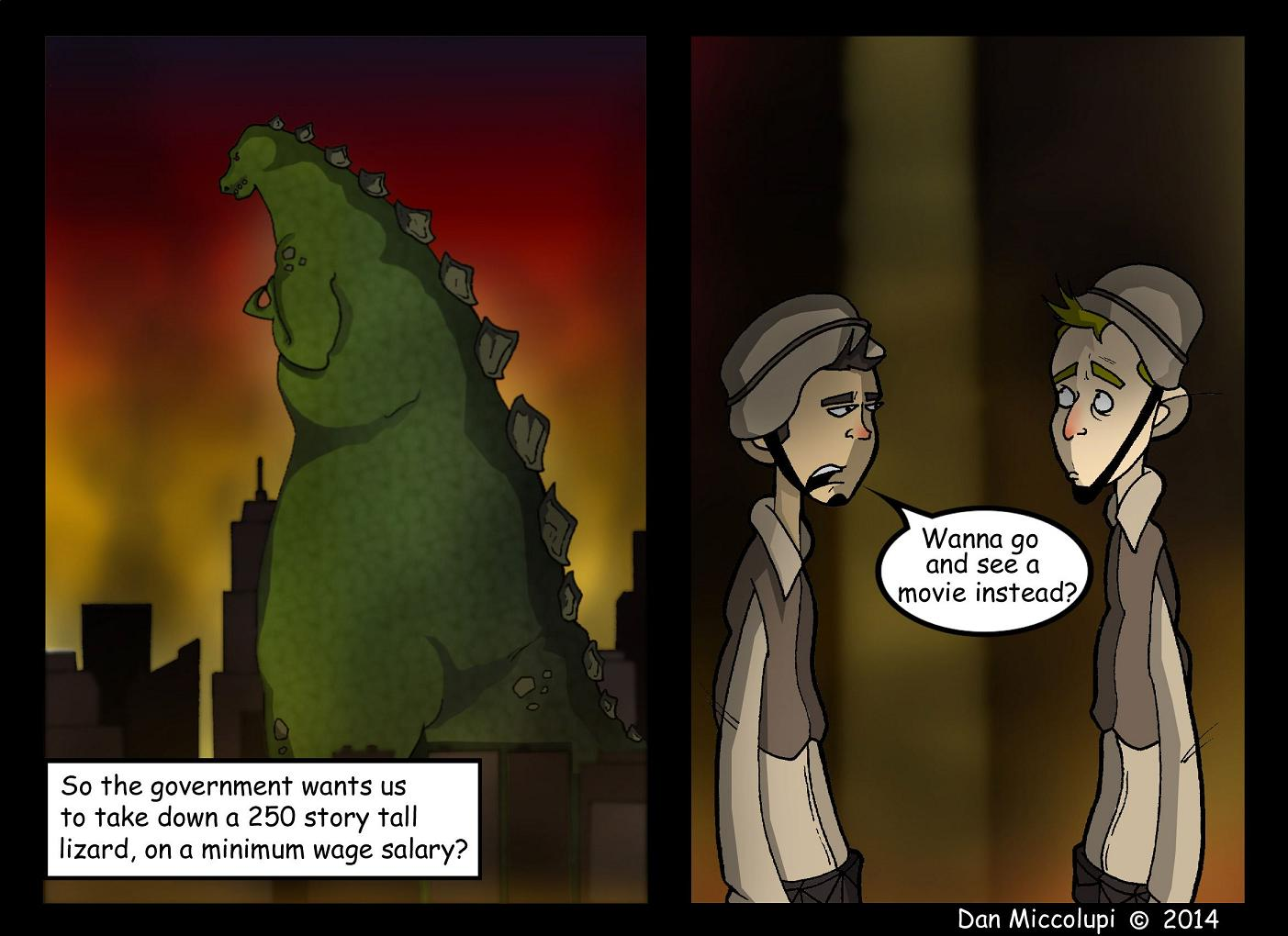 Are you a God...Zilla?